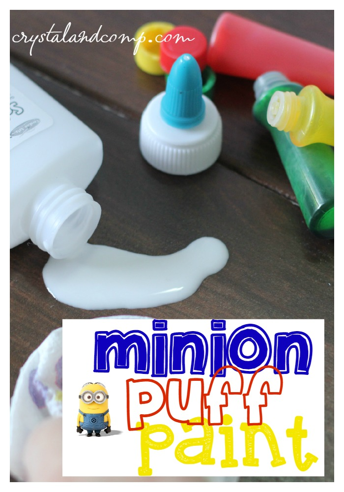 How to Make Homemade Minion Puff Paint