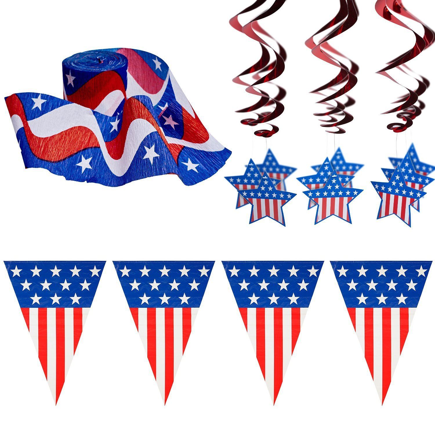 4th of july decoration pack - Home design shows on amazon prime ...