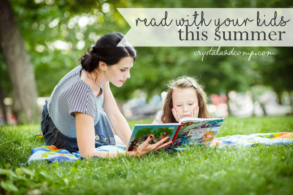 read with your kids this summer