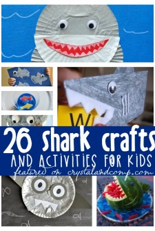 26 Awesome Shark Crafts and Activities for Kids