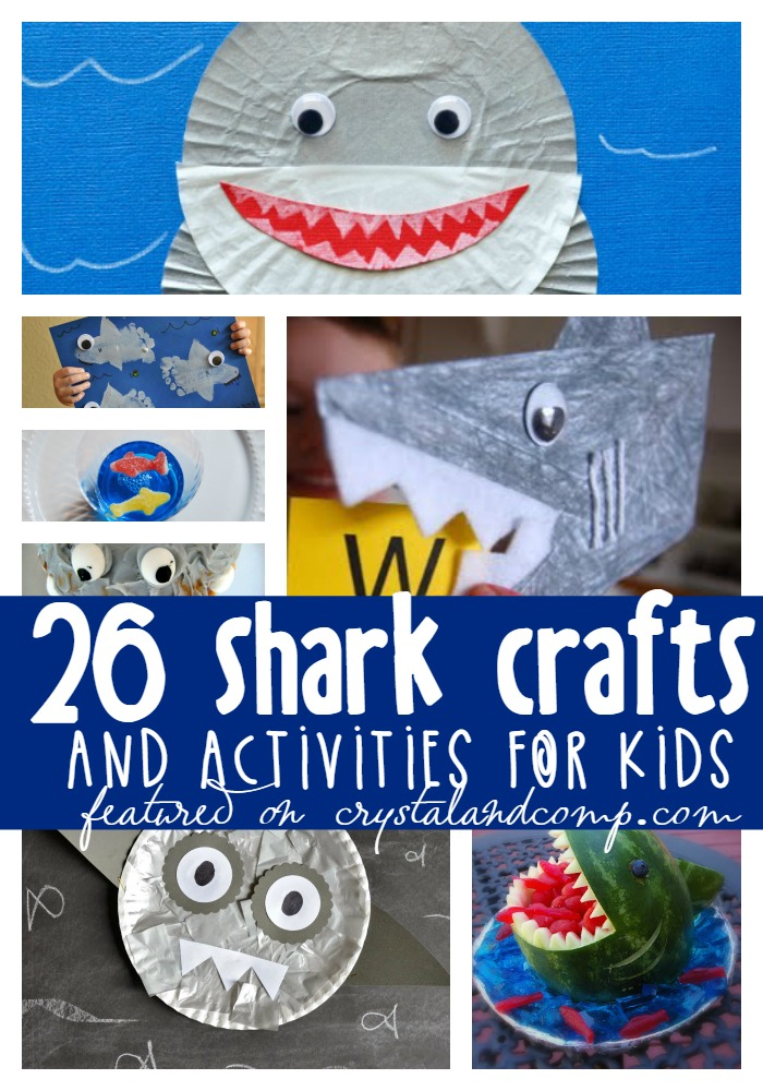 shark crafts for kids