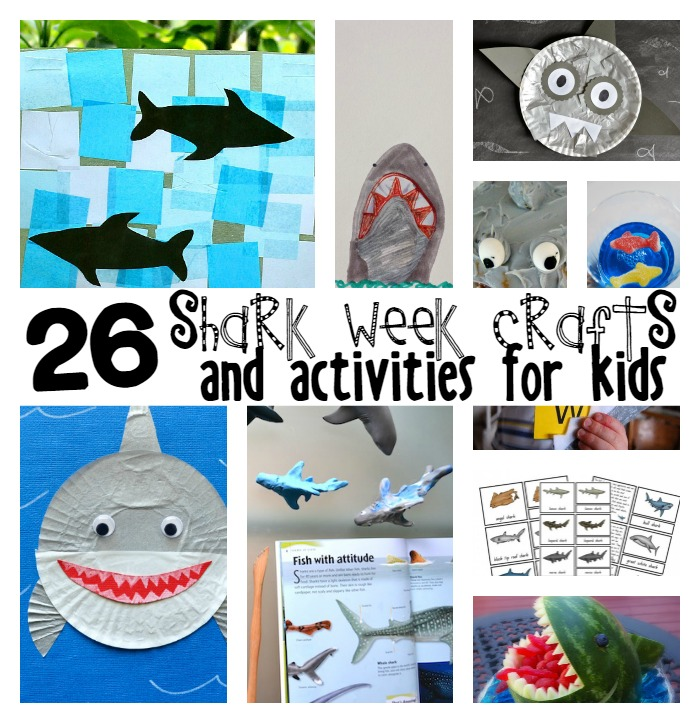 shark week crafts