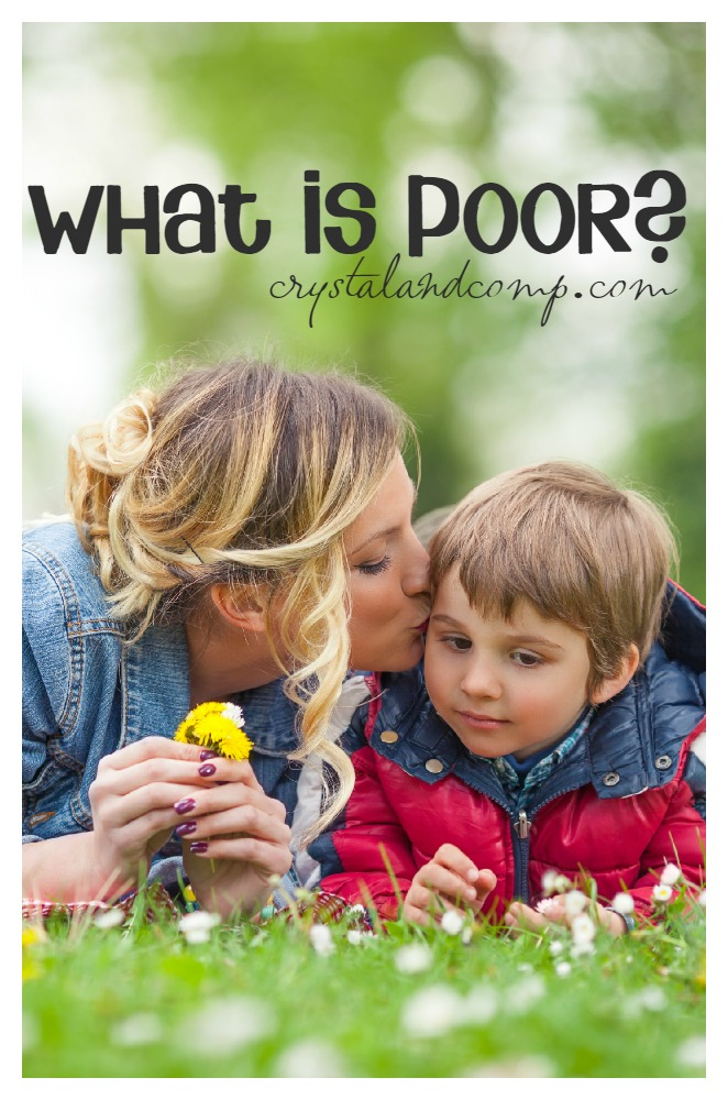 what is poor-