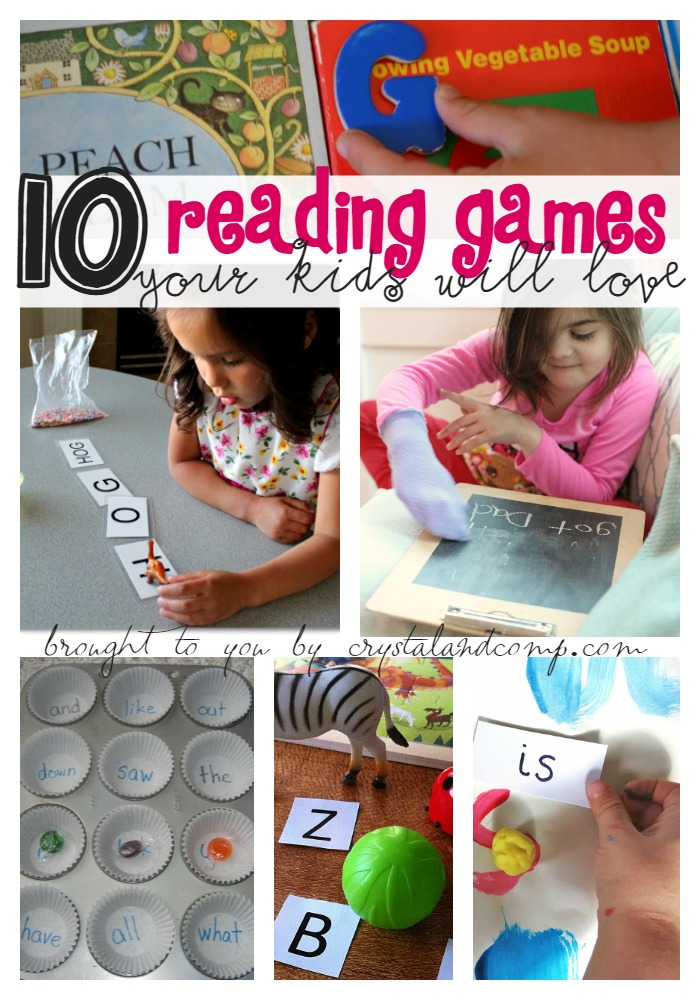 10 reading games your kids will love