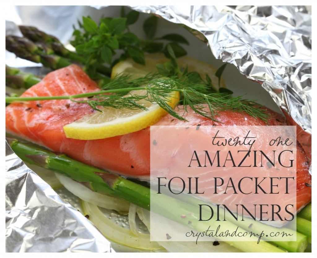 21 foil packet recipes