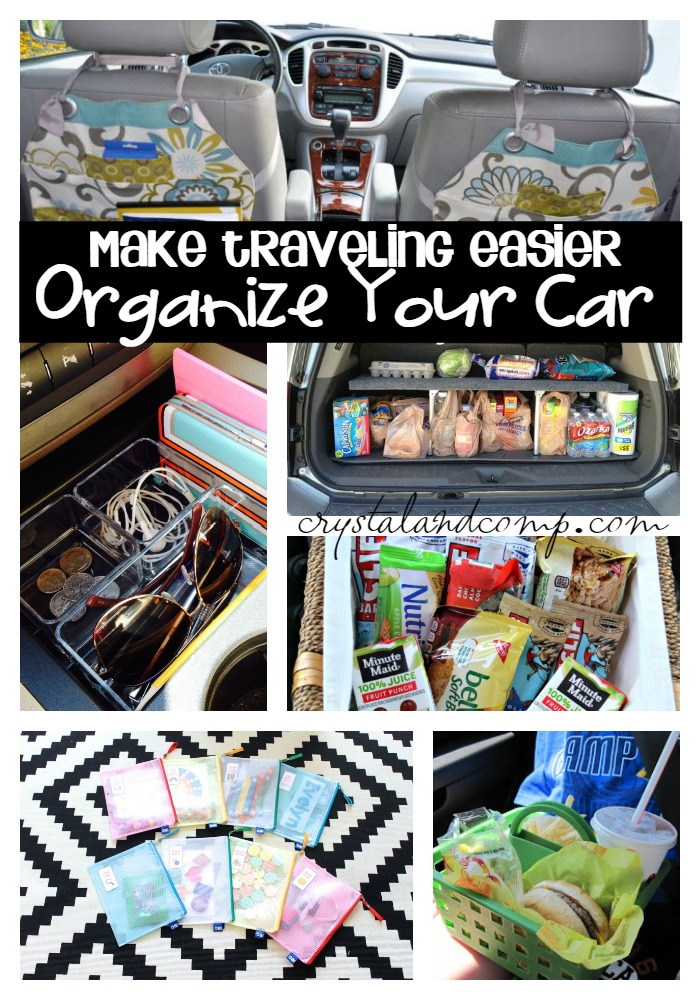 Car Organization Hacks by Crystal and Company