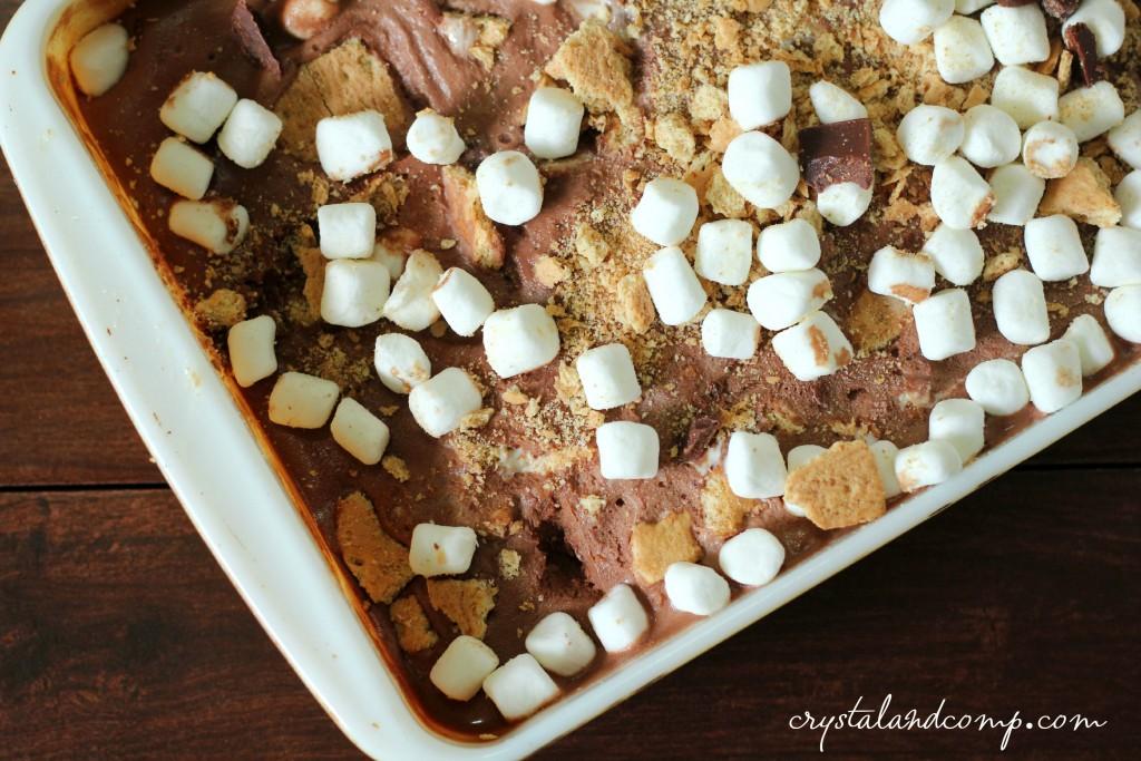 homemade smores ice cream (1)