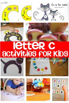 letter c crafts for kids