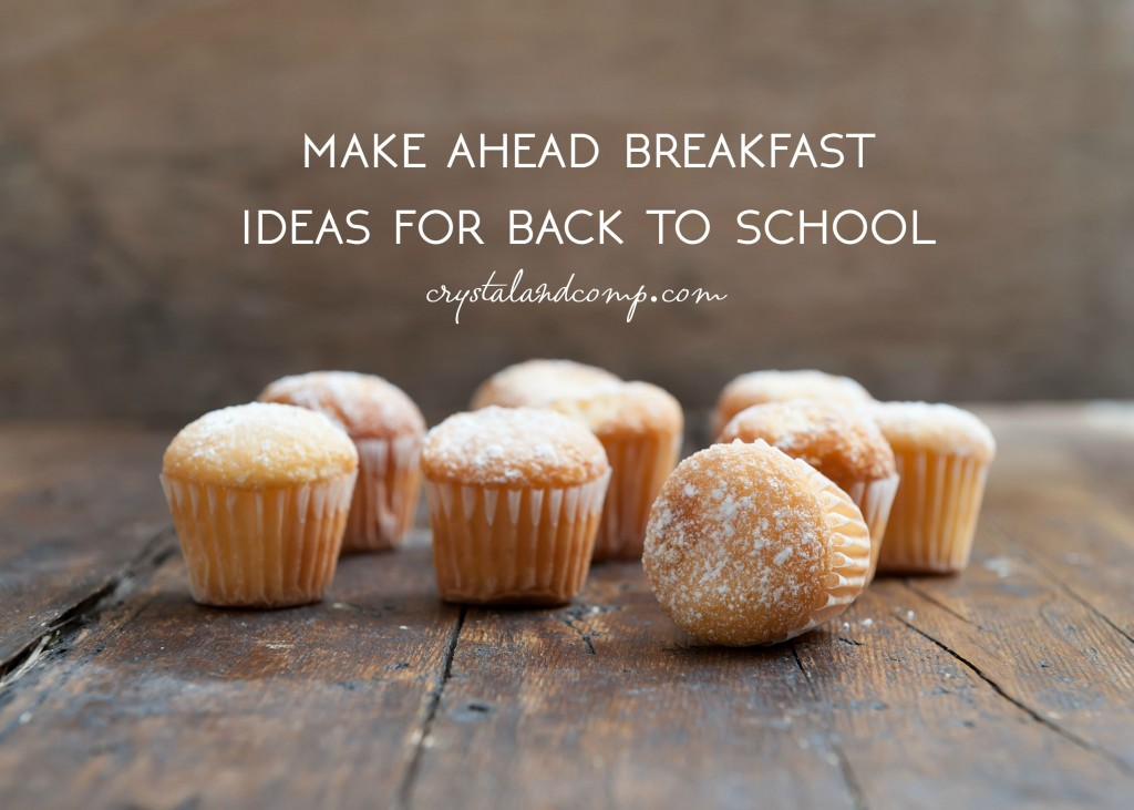 make ahead breakfast