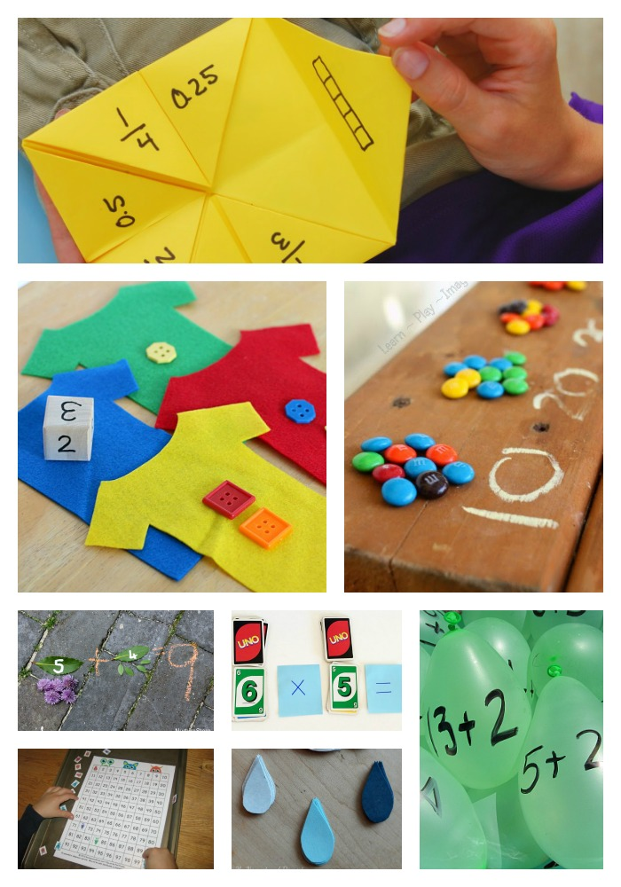 Over 20 Reading and Math Games You Can Make