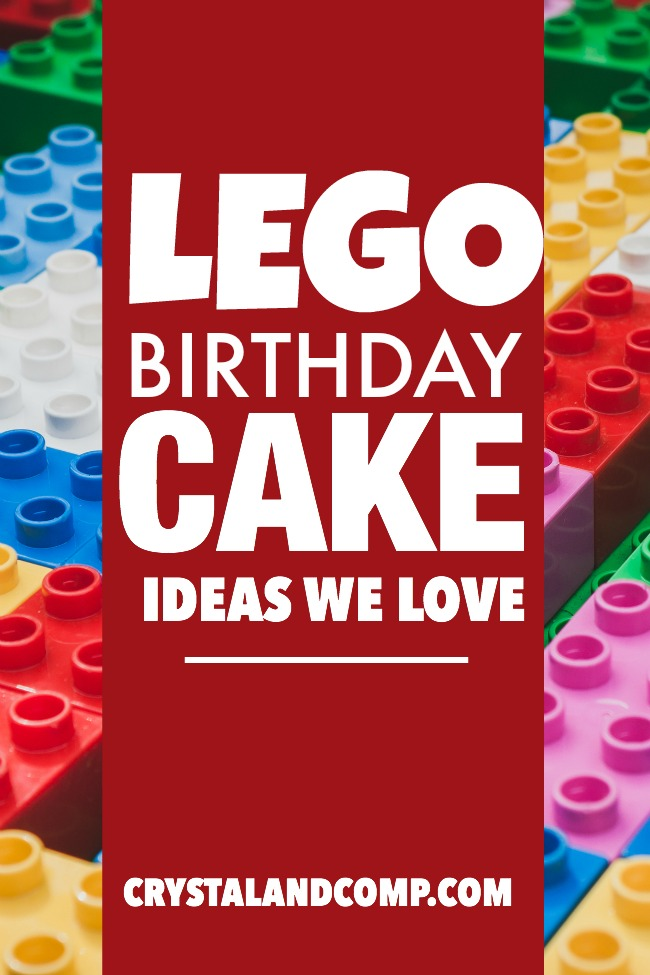 Lego Birthday Cake Ideas We Love Crystalandcomp
