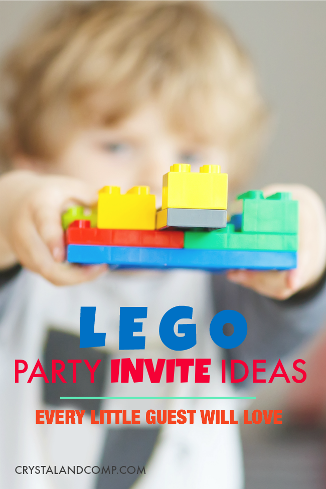 Lego Birthday Party Invitation Ideas
