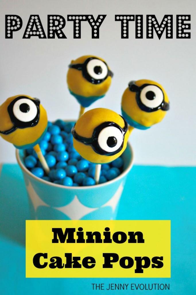 Minion Cake Pops Recipe