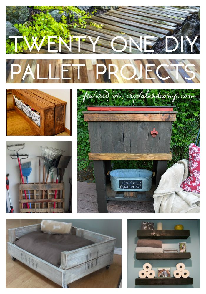 21 diy pallet projects