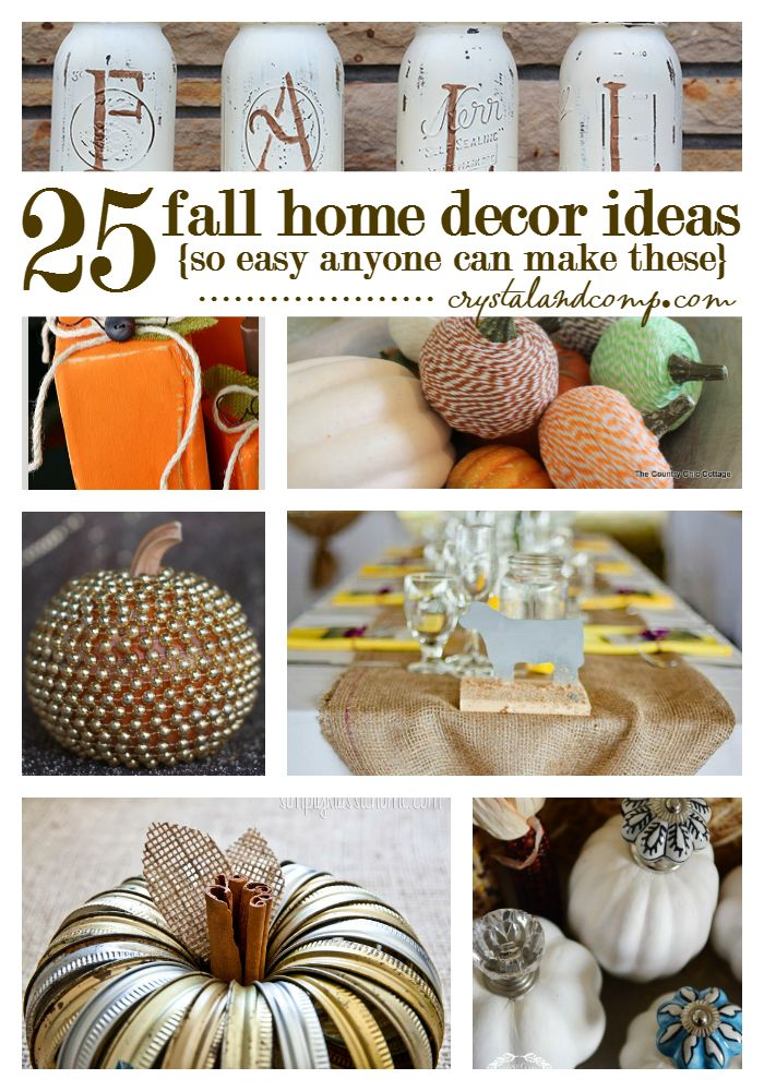 Fall Home Decor Ideas