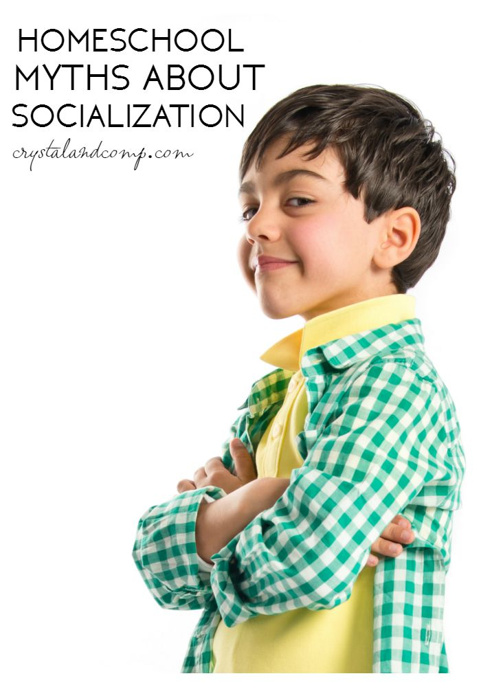 homeschool myths about socialization