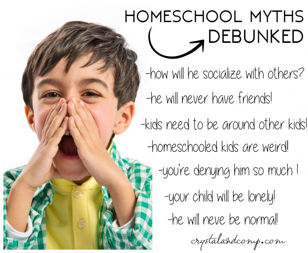 homeschool myths debunked