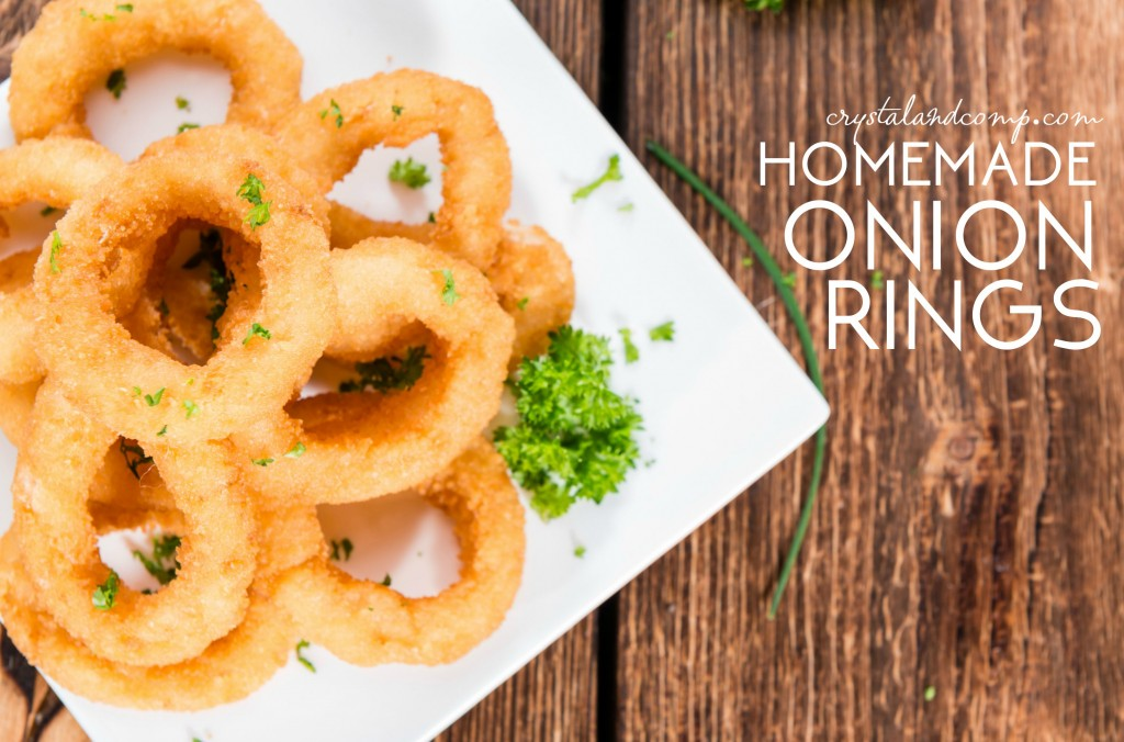 how to make onion rings at home
