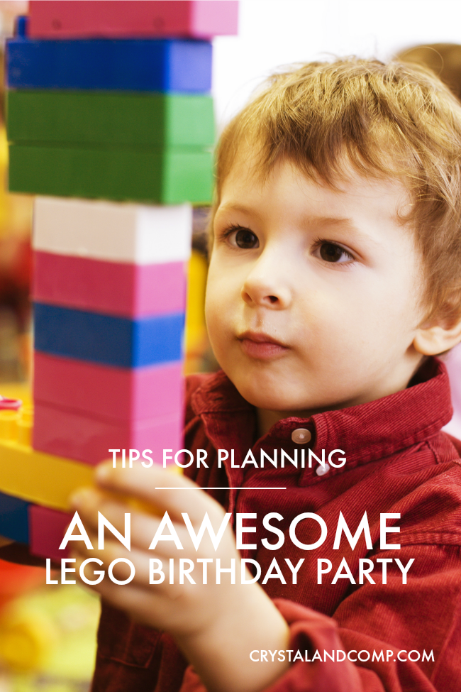 How to Plan an Awesome LEGO Birthday Party