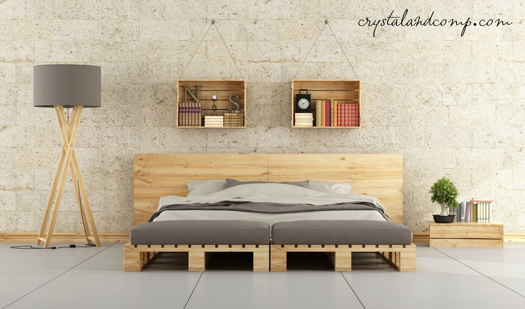 Bedroom Storage Trunk Pallet Projects