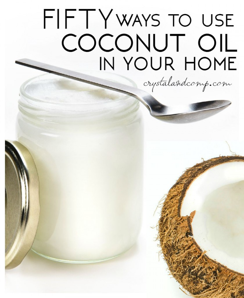ways to use coconut oil at home