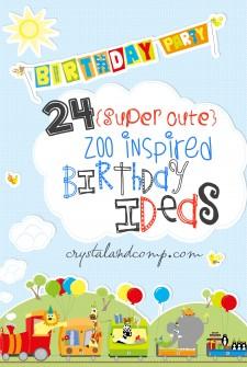 zoo birthday ideas