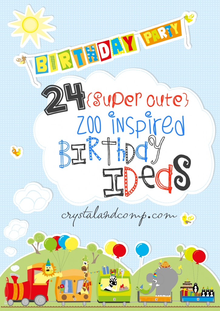 zoo birthday ideas