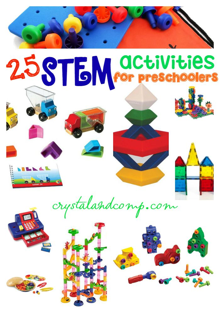 25 STEM activities for preschoolers
