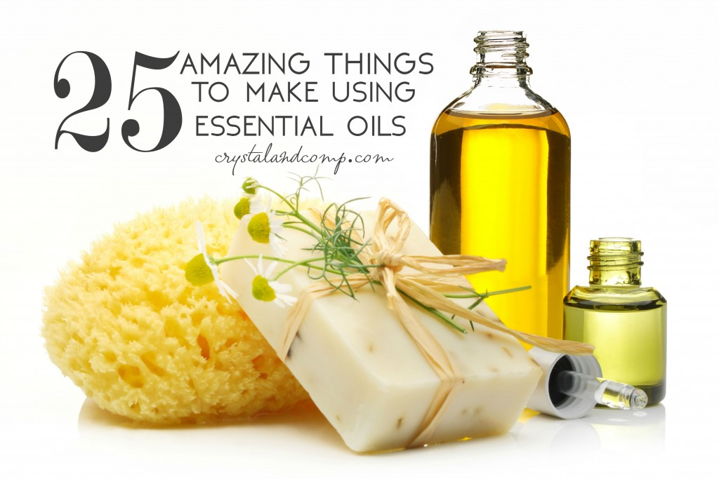 25 amazing things to make using essential oils