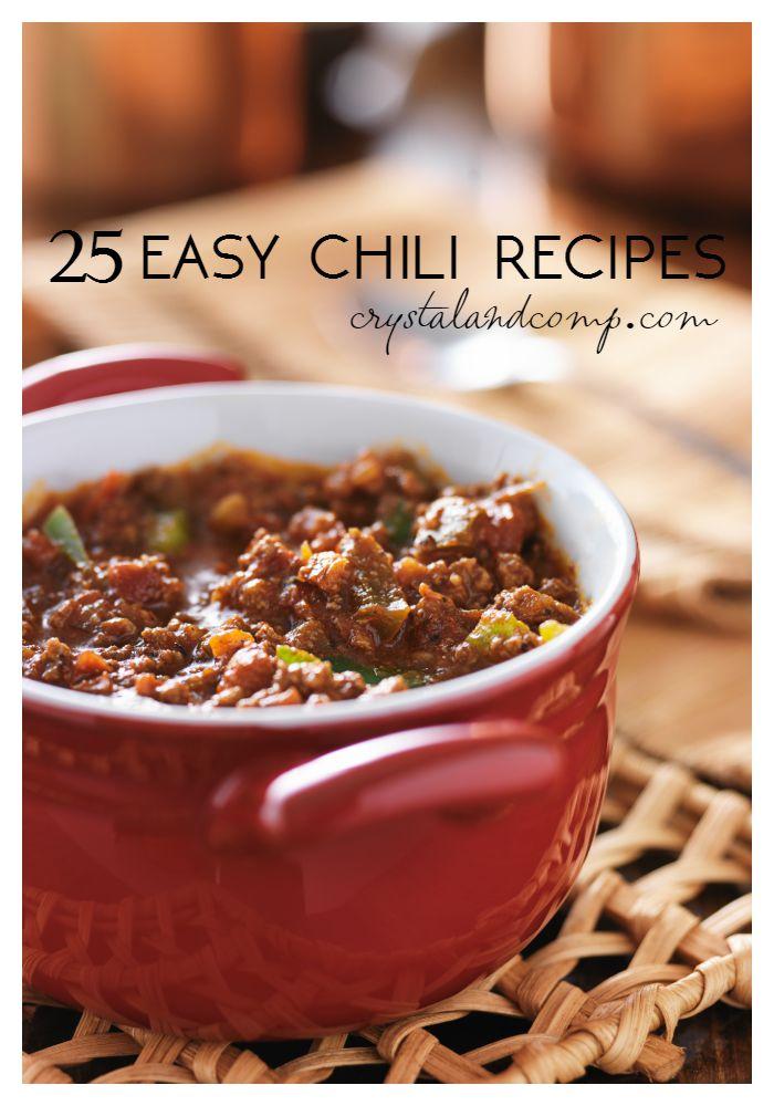 Easy Chili Recipes - photo#39