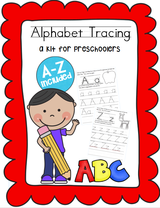 abc tracing worksheets for preschoolers