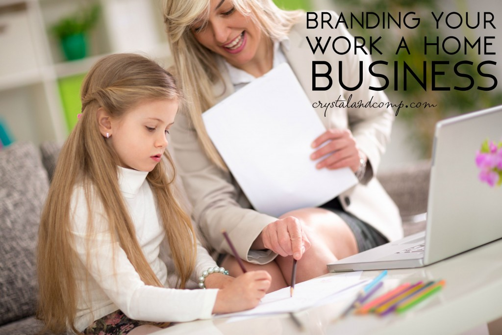 branding your work at home business
