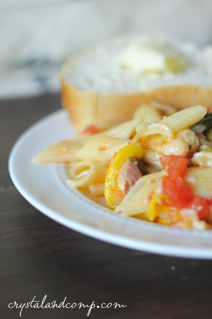 easy recipes using pasta