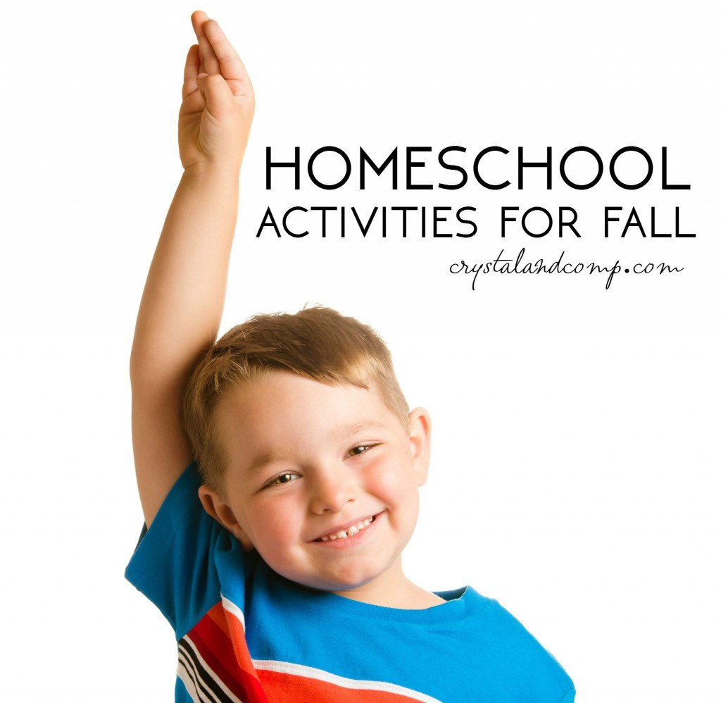 homeschool activities for fall