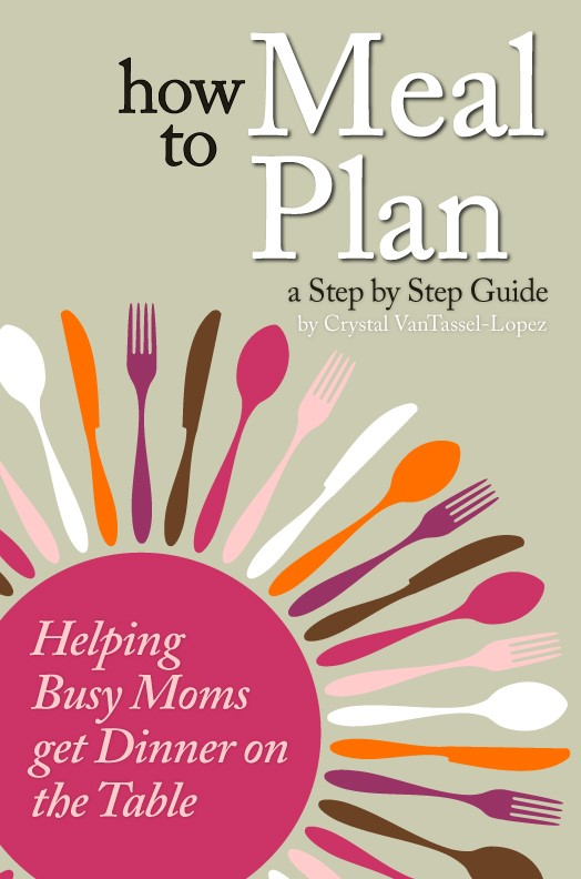 how to meal plan ebook from Crystal VanTassel