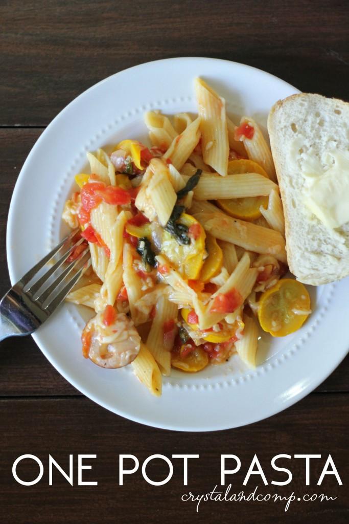 one pot pasta using Barilla® Pronto™
