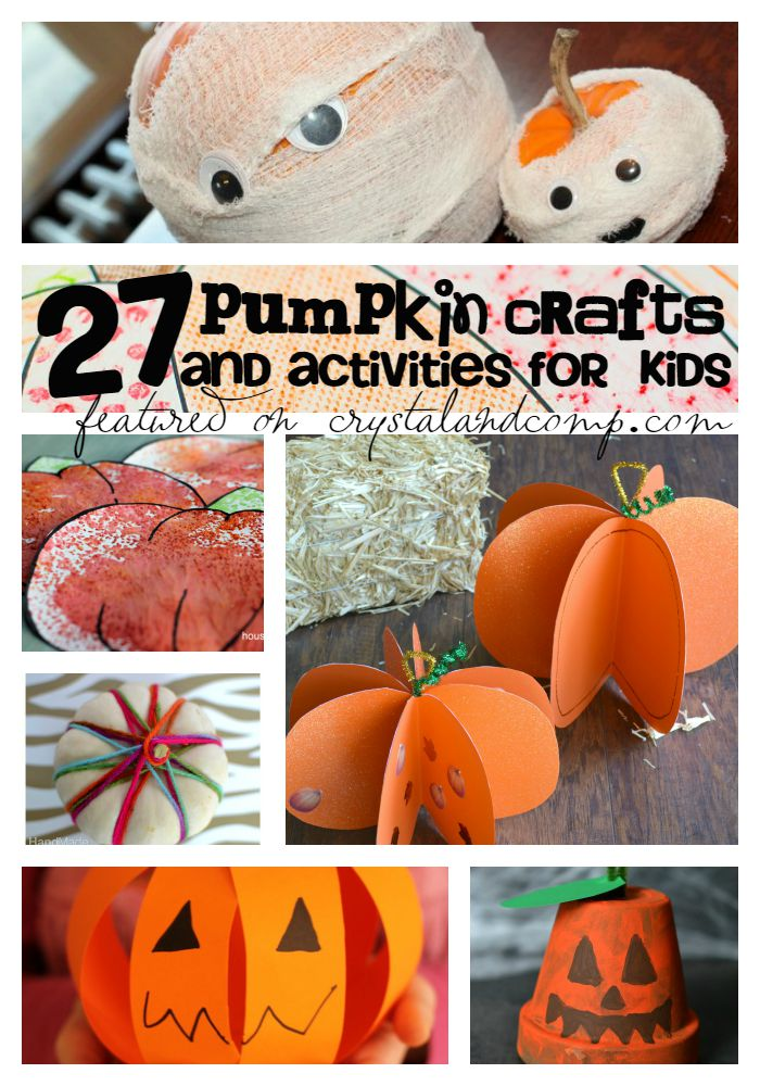 It's just a picture of Dramatic Pumpkin Crafts for Toddlers