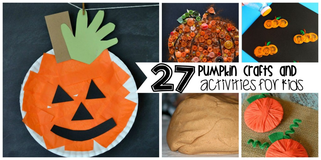 pumpkin crafts and activities for kids (1)