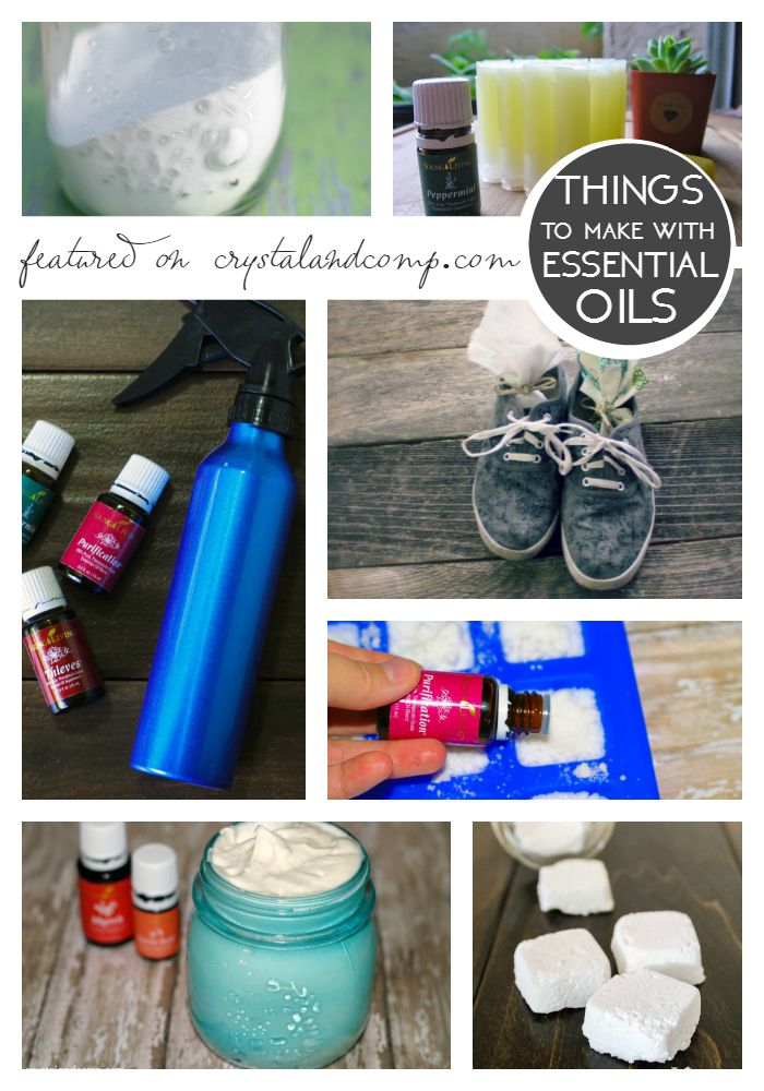 things to make with essential oils