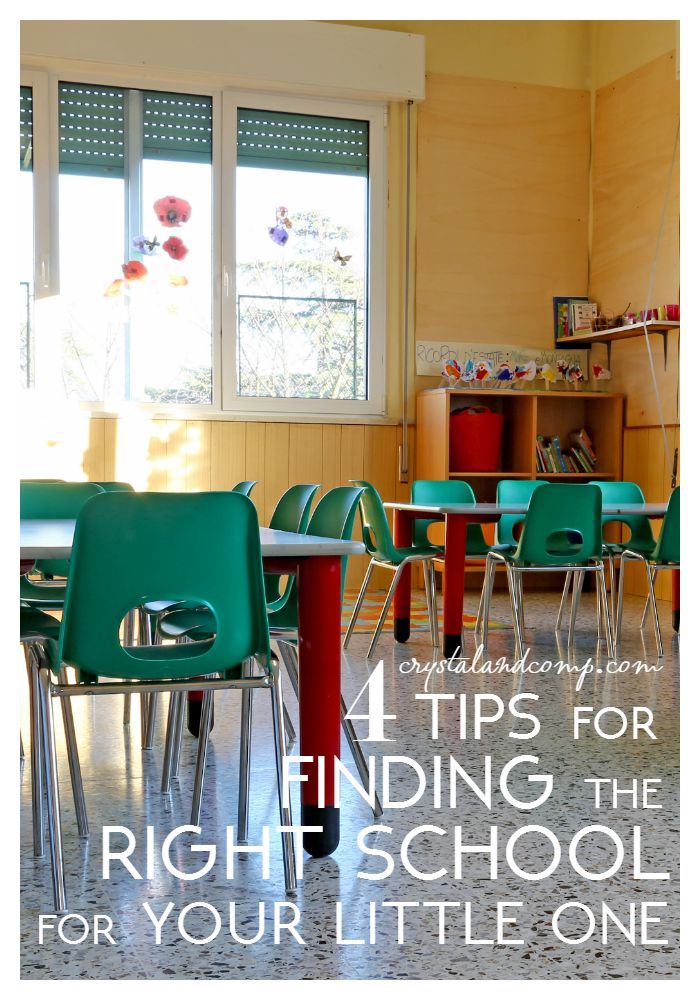 tips for finding the right school for your little one