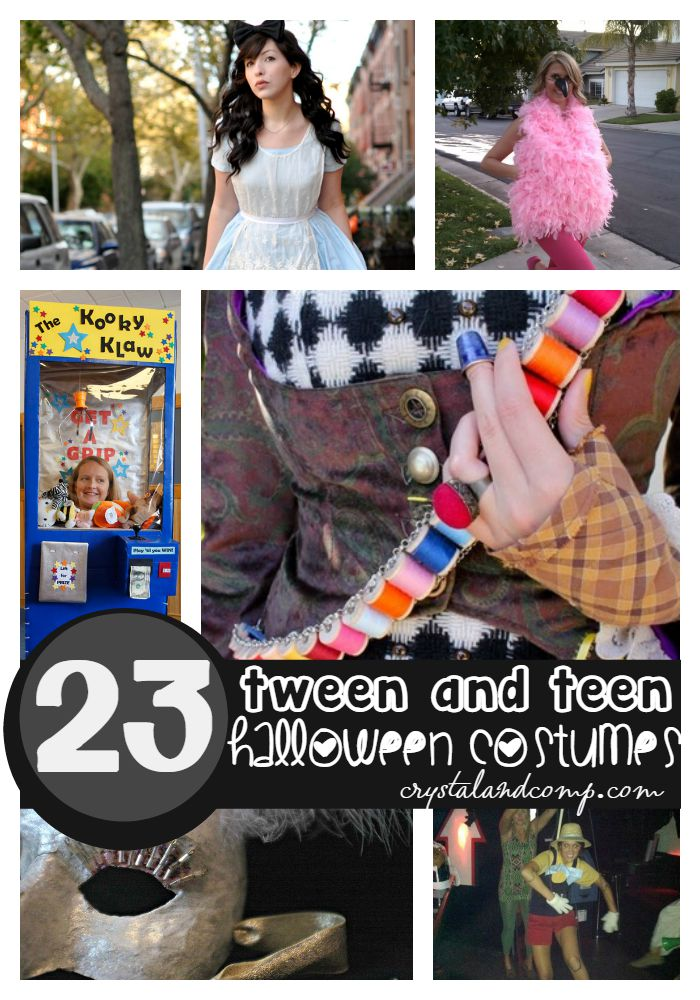 tween and teen halloween costumes & 23 Totally Cool Tween and Teen Halloween Costumes | CrystalandComp.com