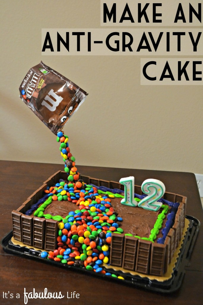 How to Make An Anti Gravity Cake