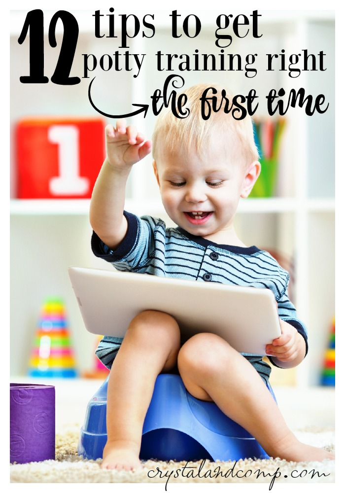 12 tips to get potty training right the first time