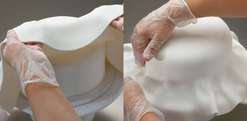 How to Use Fondant on a Round Cake