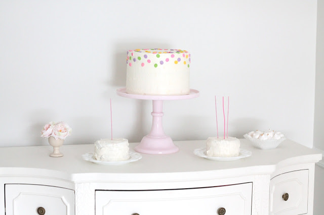 DIY Layered Birthday Cake