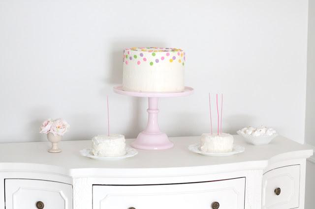 DIY Layered Birthday Cake