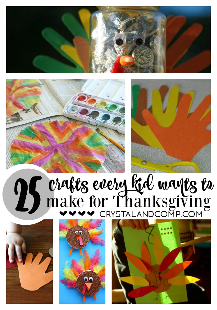 Thanksgiving Kids Crafts Ideas Part - 42: 25 Thanksgiving Crafts For Kids