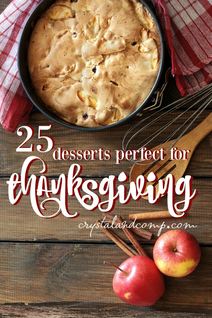 25 desserts perfect for thanksgiving