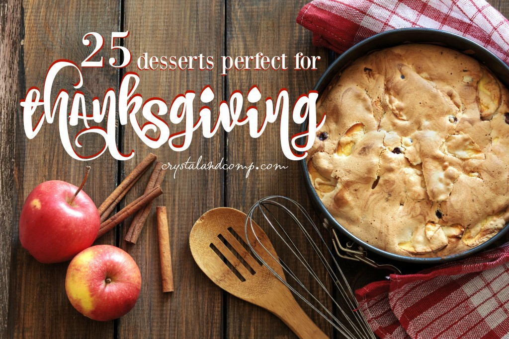 25 desserts perfect for thanskgiving