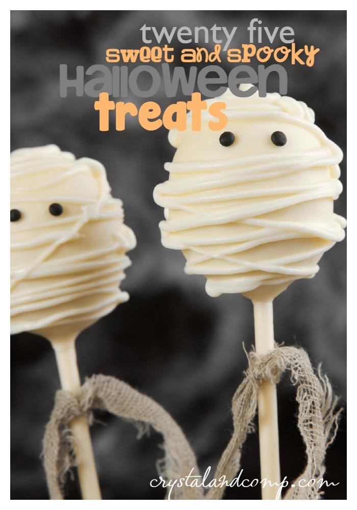 25 sweet and spooky halloween treats